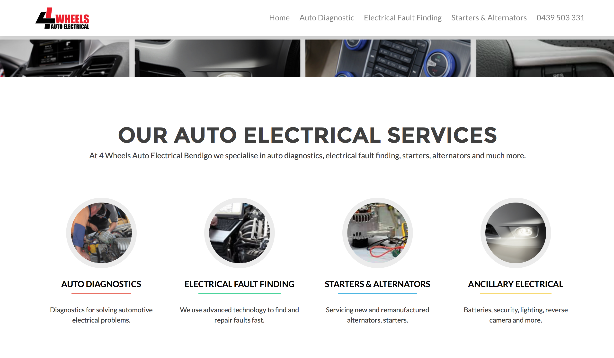 4-wheels-auto-electrical-get-online-recent-projects-homepage