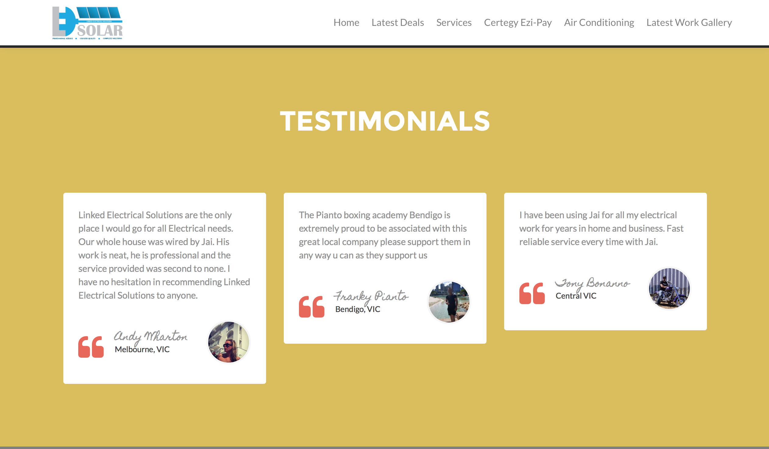 linked-electrical-get-online-recent-projects-testimonials