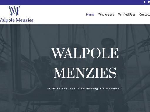 Walpole Menzies V2